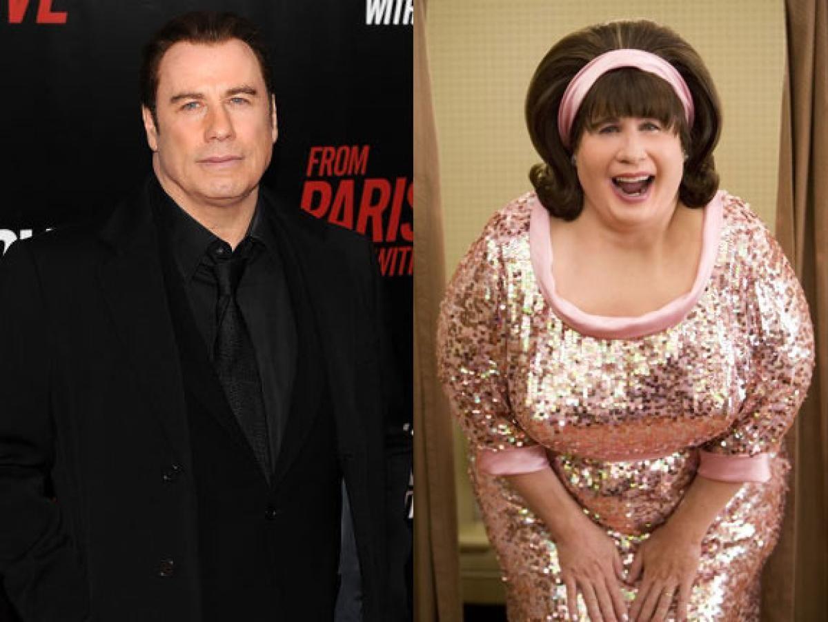 Movie makeovers of the stars John travolta, Hairspray