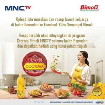 Lomba Resep Bimoli Cooking Ramadan Berhadiah Uang Jutaan Masakan Uang Kuis