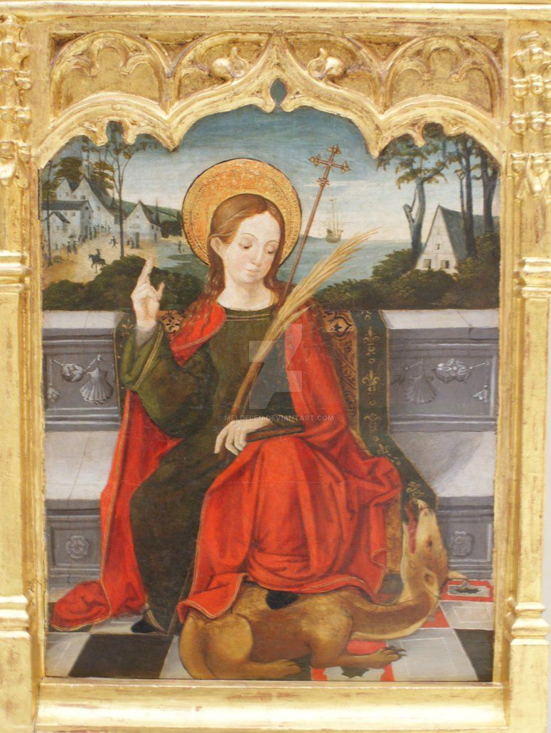 Santa Margarita de Antioquia | Art, Painting, Dragon