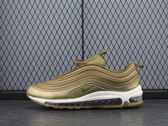 Wmns Nike Air Max 97 Ultra 17 'Metallic Gold' 917704 901