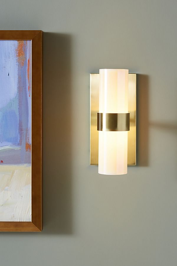 Piper Sconce By Anthropologie In White Lighting Wall Lights