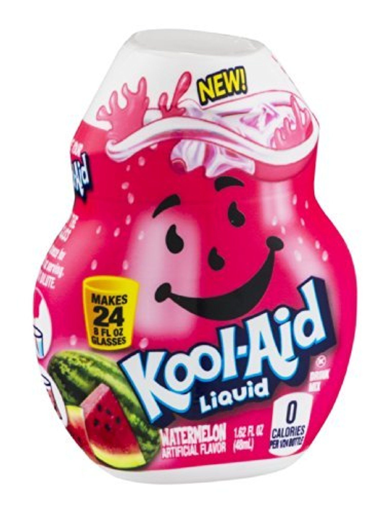 Kool Aid Liquid Drink Mix Watermelon 1 62 Oz Pack Of 24 By Kool Aid Awesome Products Selected By Anna Churchill Kool Aid Kid Drinks Mixed Drinks