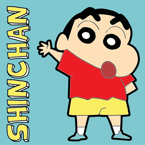 Crayon Shin Chan Archives How To Draw Step By Step Drawing Tutorials Crayon Shin Chan Cute Cartoon Wallpapers Sinchan Cartoon