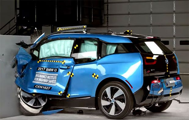 In New Safety Tests Plug In Hybrids Beat Electric Cars Car