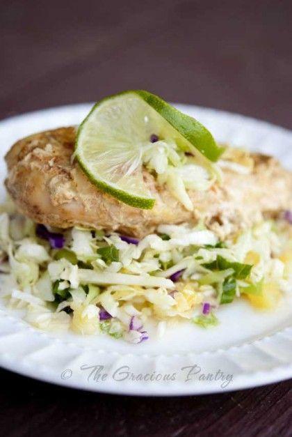 Slow Cooker Chicken Ingredients: