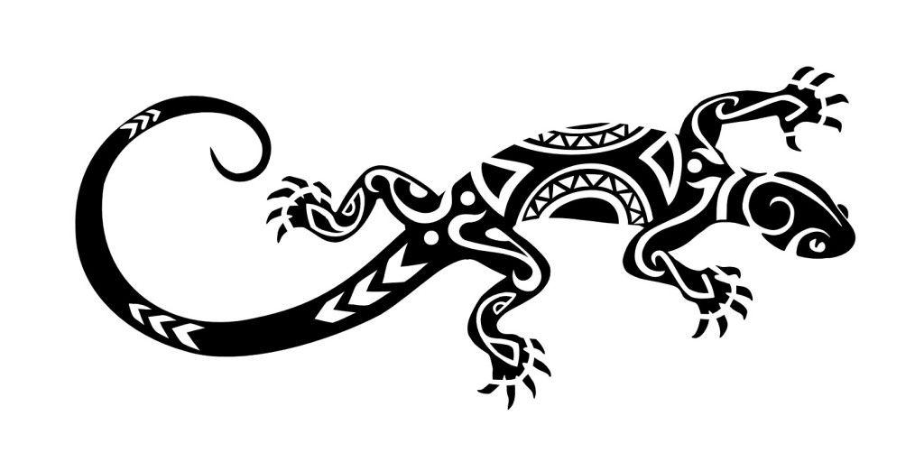 Tattooblr Maori Lizard Tattoo Lizard Tattoo Tribal Tattoos Gecko Tattoo