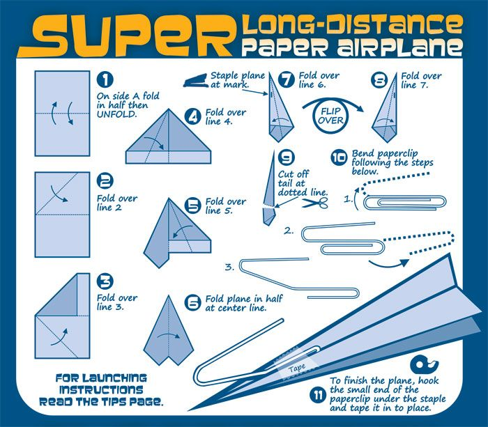 Videos And Instructions For 25 Awesome Paper Airplanes Description