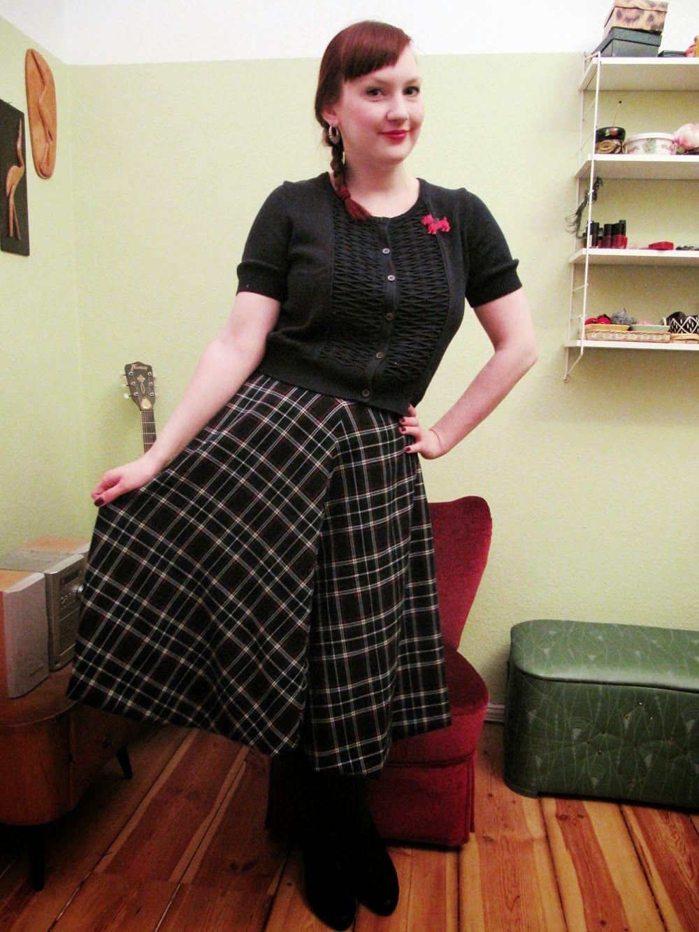 Um Saum Und Kragen Circle Skirt Tellerrock Tutorial Http
