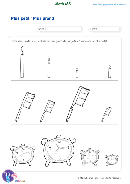Exercices Maths Ms Mathematiques Maternelle Moyenne Section Exercice Moyenne Section Mathematique Maternelle Exercice Petite Section