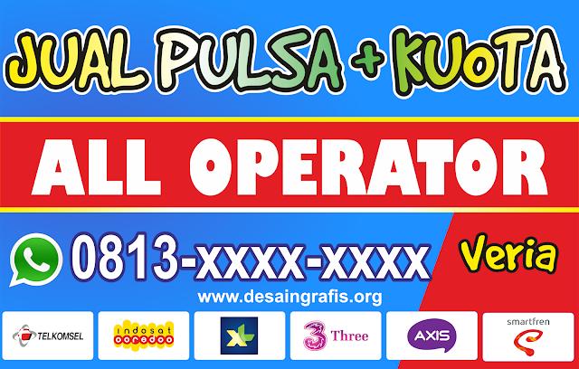 Banner Jual Pulsa dan Voucher cdr | Kecerdasan buatan ...