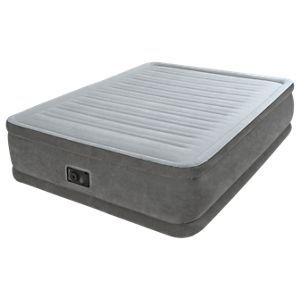 Intex Comfort Plush Elevated Airbed With Built In 120v Pump