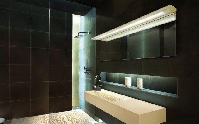 Iluminación de espejos de baño Iluminación baños Pinterest