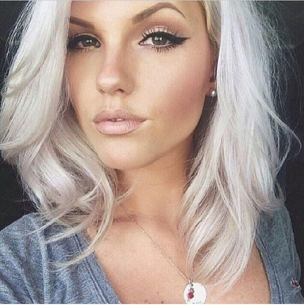 Platinum Hair Hair Color Hair Beauty Cool Hair Color