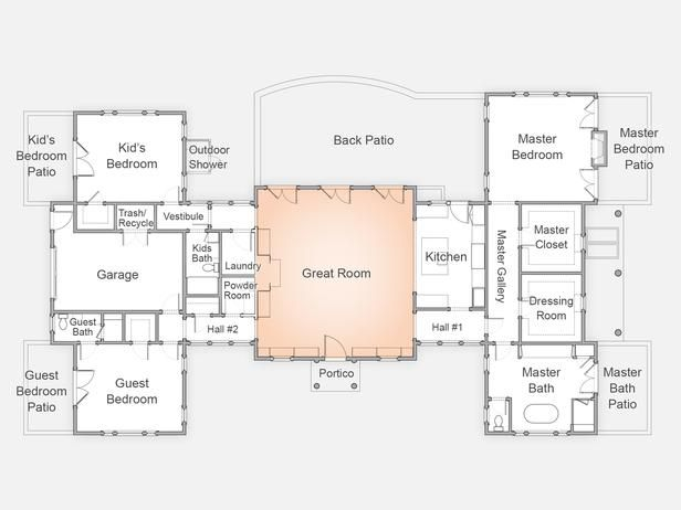 Hgtv Dream Home 2015 Floor Plan I Would Move The Laundry Room Behind The Kitchen With Easy Access To The Mbr Hgtv Dream Home Hgtv Dream Homes House Flooring