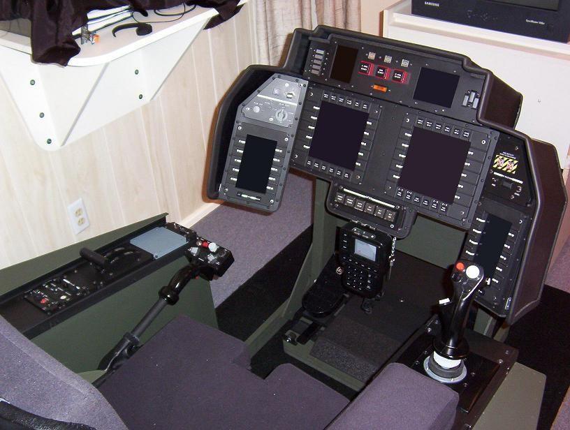 4 Axles USB Flight Stick Simulator Joystick Flight