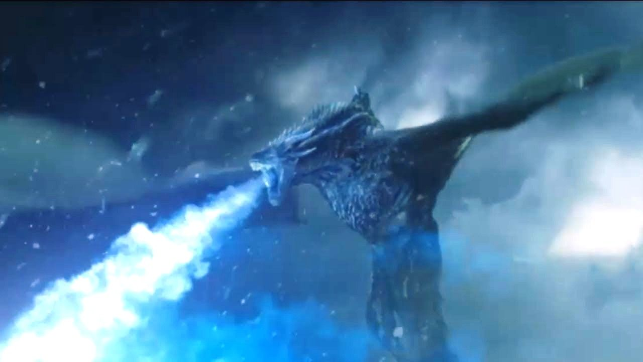 Ice Dragon Night's King Game of Thrones Wallpaper Kings