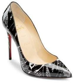 e8ab805b5067 Christian Louboutin Pigalle Follies 100 Printed Patent Leather Pumps  affiliatelink