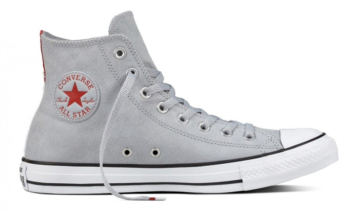 CONVERSE CHUCK TAYLOR ALL STAR HI TOP WOLF GREYBLACKWHITE