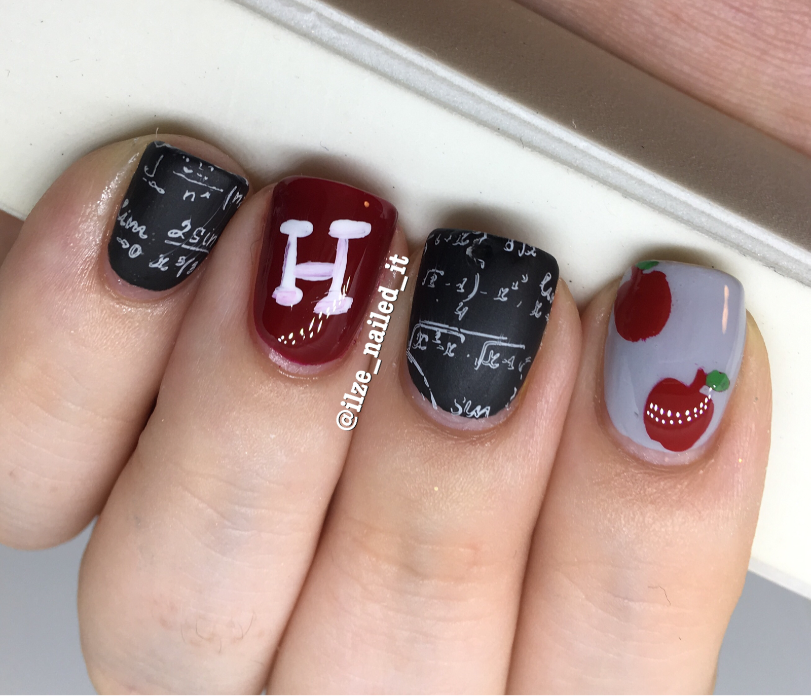 Good Will Hunting inspired nail art | Ilze_Nailed_It | Pinterest