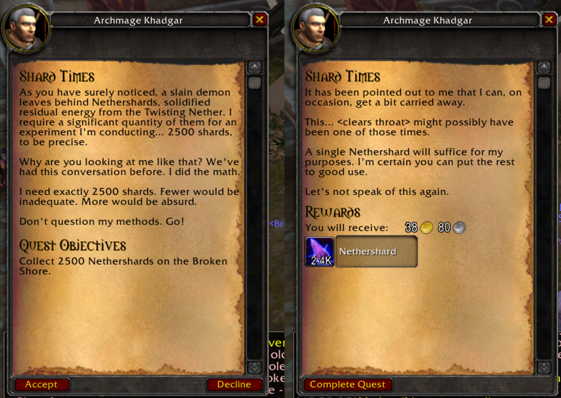 Someone Already Talked To Khadgar About His Problem Album On Imgur World Of Warcraft Warcraft Funny World Of Warcraft 3