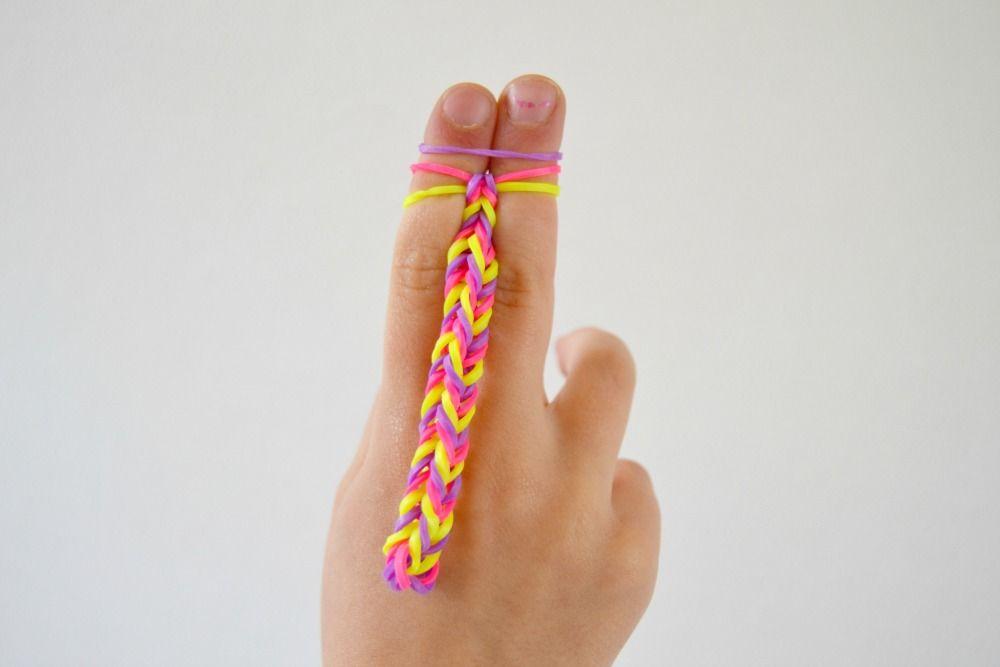 Comment faire un bracelet d'elastique