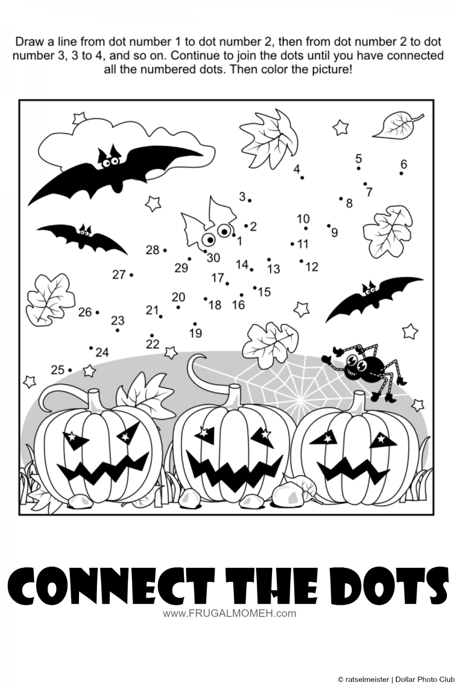 FREE Halloween Printable Activity Sheets for Kids | trunk r treat ...