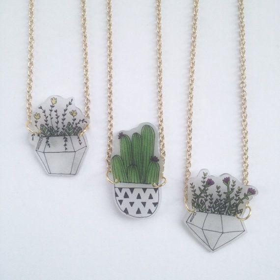 Plant Necklace Terrarium Shrink Plastic Riley Grae