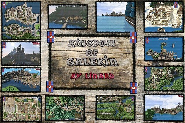 Kingdom of Galekin Map 191 189 18 - minecraft adventure maps - copy flat world survival map download
