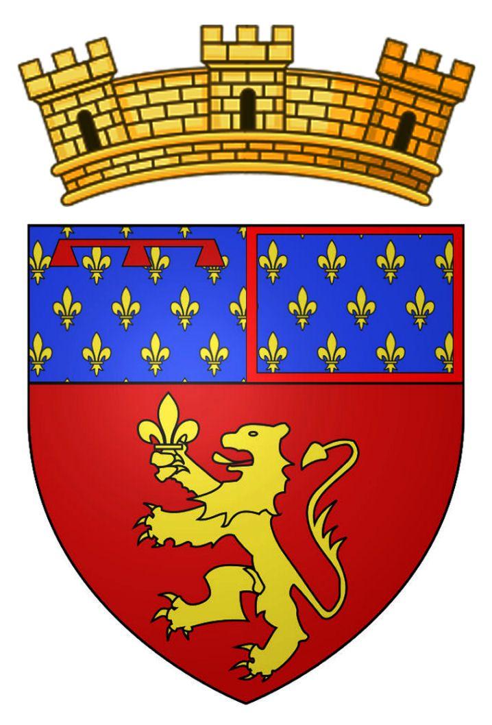 Blason de Berre-l'Étang. Commune fraçaise, département des Bouches-du-Rhône