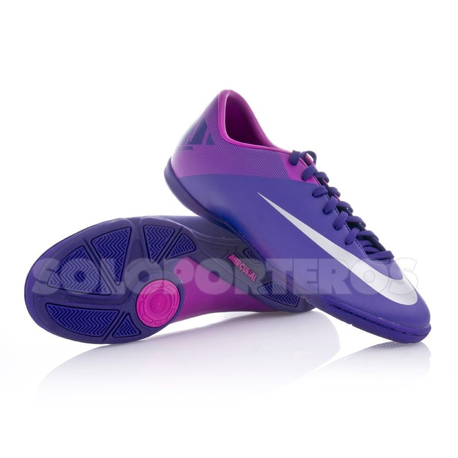 Zapatilla Nike Mercurial Victory II IC Purpura desde $52.43 (39,95€) -