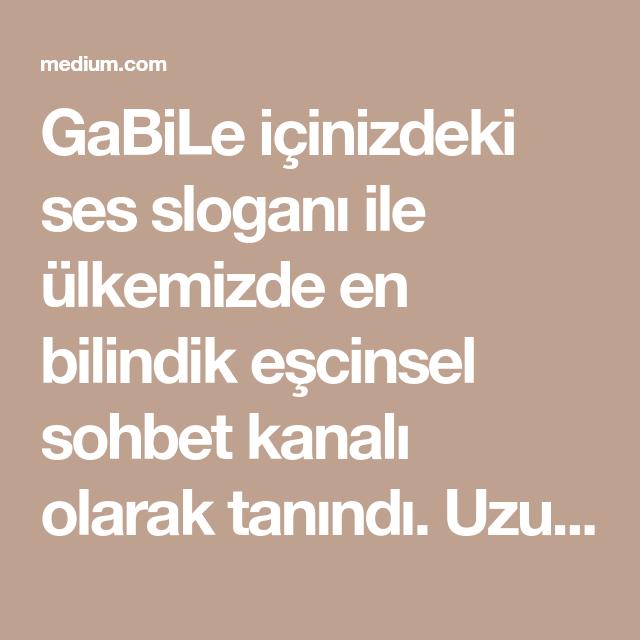 gabile chat