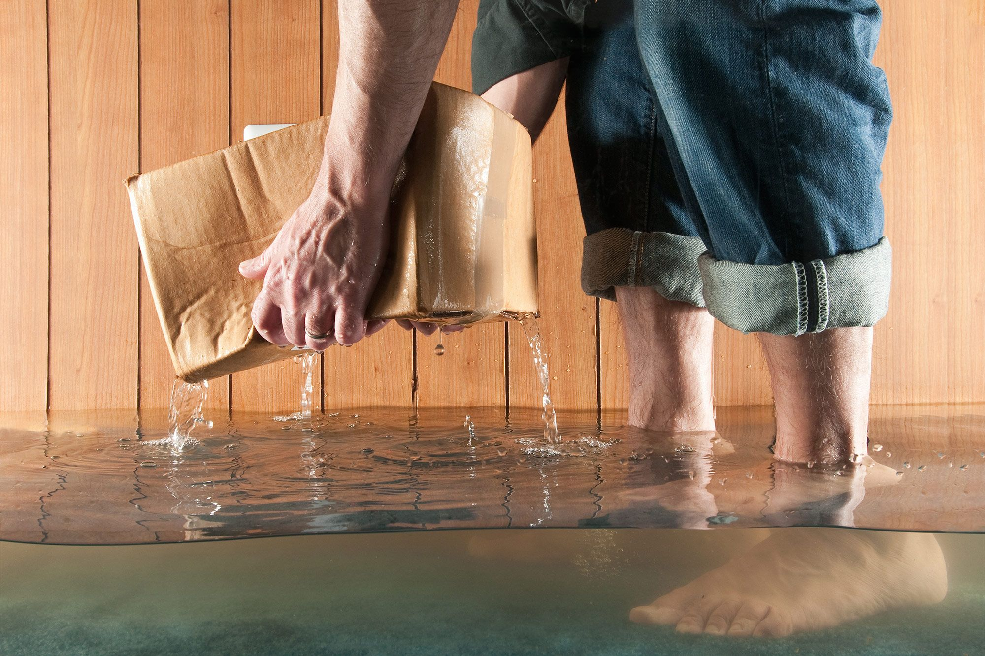 Dont Let Your Flooded Basement Sink You Basements And Sinks - Basement keeps flooding