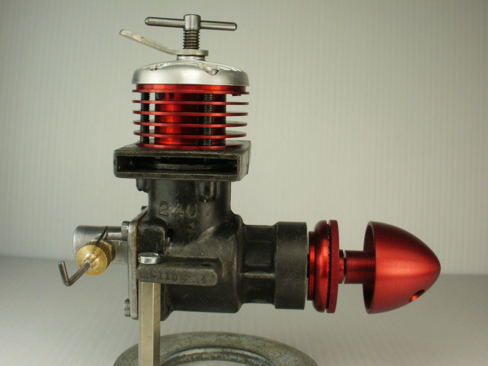 Vintage 1952 British ED RACER 246 DIESEL Control Line Model