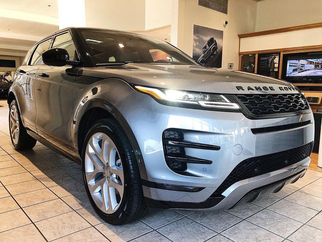Just in, 2020 landrover Range Rover Evoque in Eiger Grey