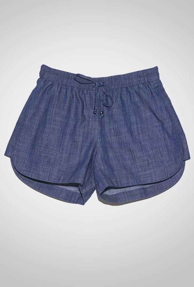 Short Básico Jeans Maragogi - MyBasic  29a83685b42
