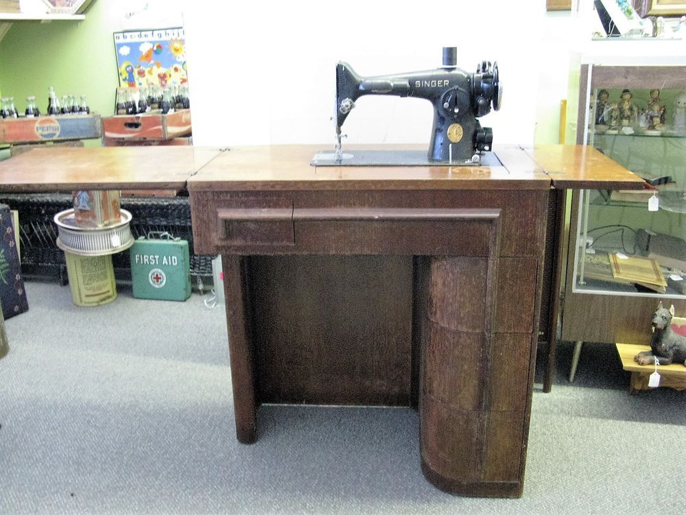 1940 Singer Model Class 201 Sewing Machine