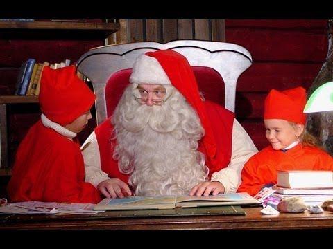 Pere Noel Youtube Secrets des lutins du Père Noël