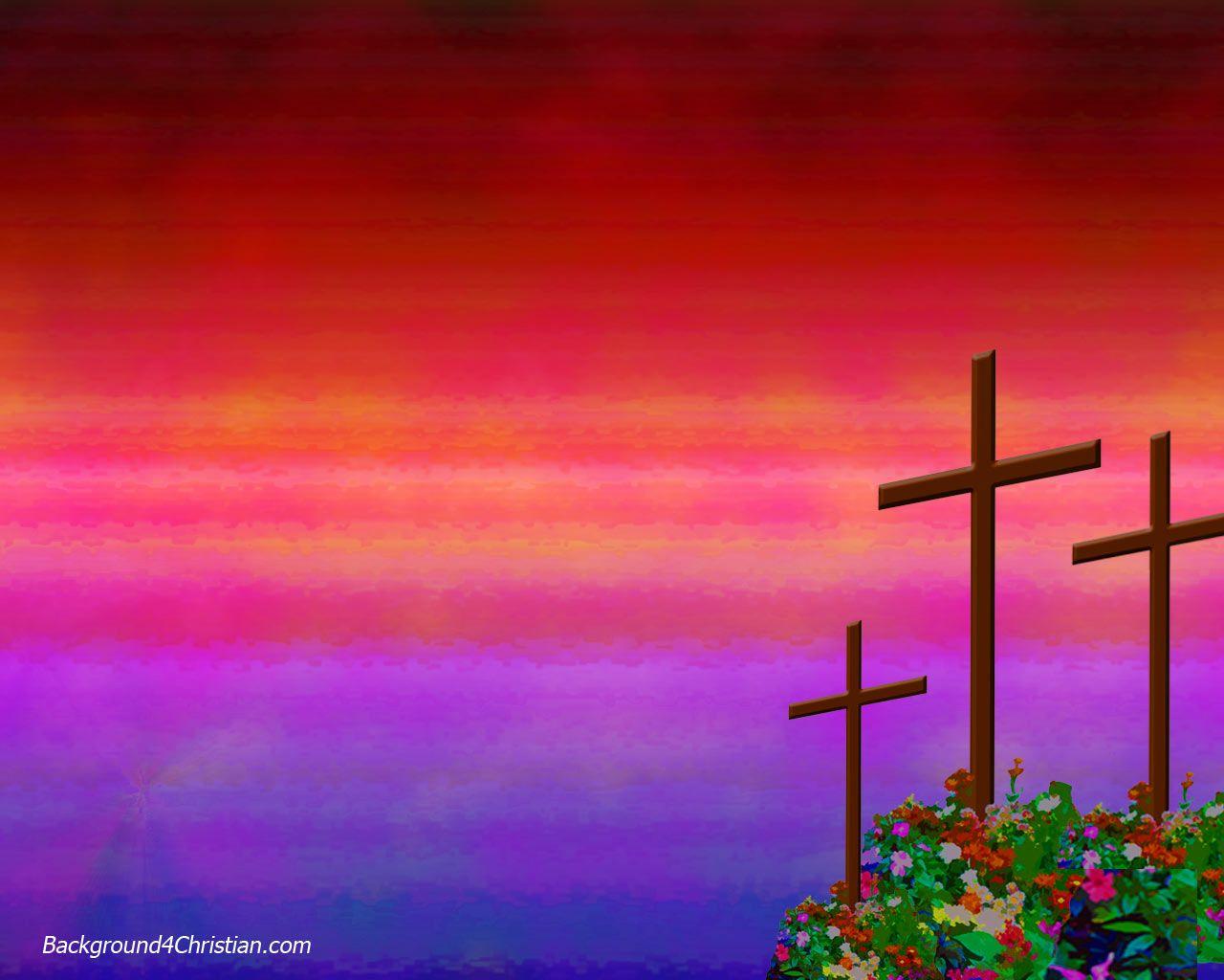 Google chrome themes jesus christ - Easter Theme Background 4 Christian