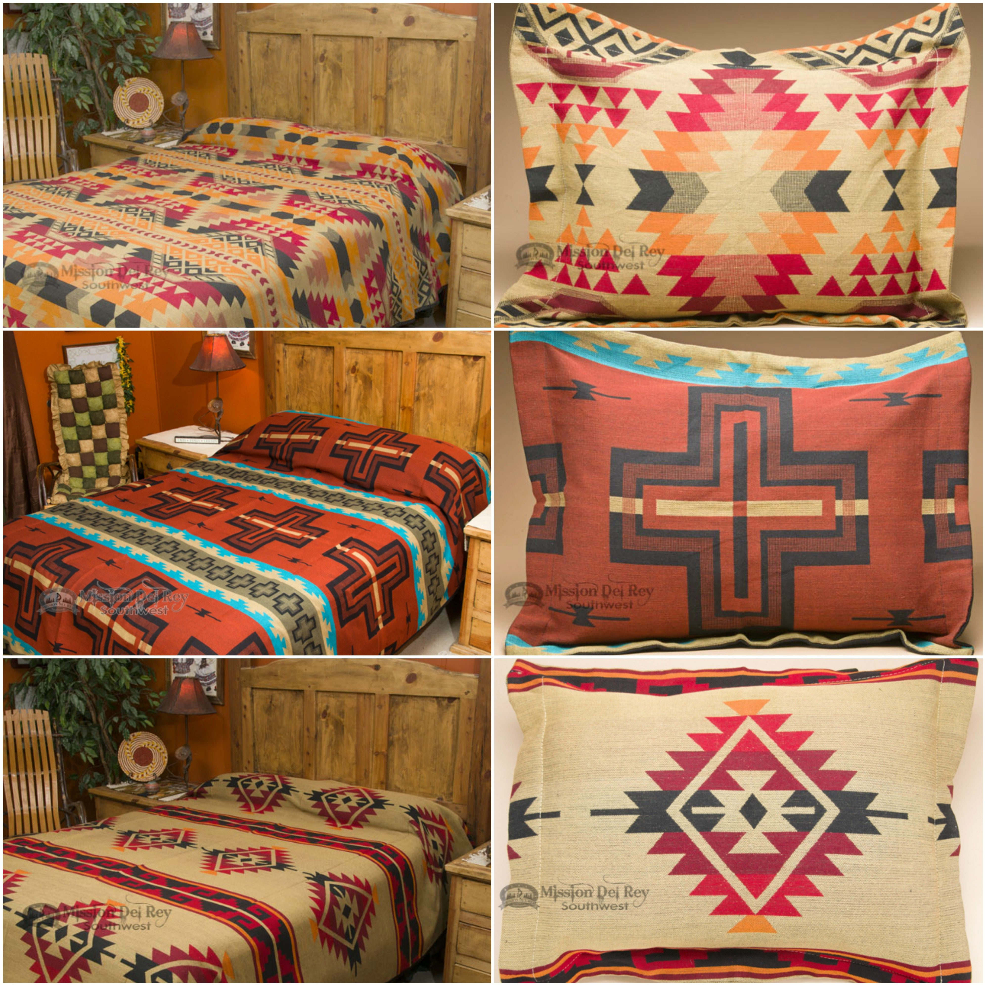 Check Out Our Amazing Southwest And Western Bedding Sets With Matching Pillow Shams Choose From A Wide Rustic Bedding Western Bedding Southwestern Bedspread
