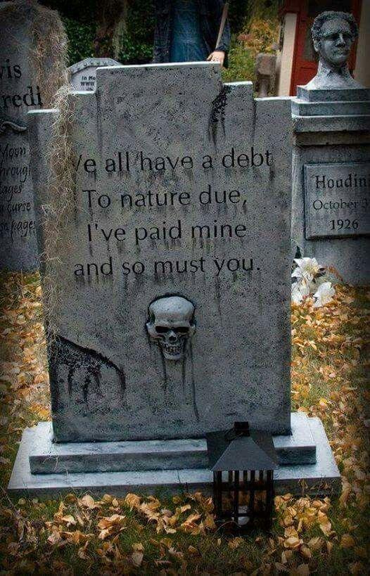 Pin by Gina Milner on Halloween - Cemetary  Tombstones Pinterest - diy outdoor halloween props