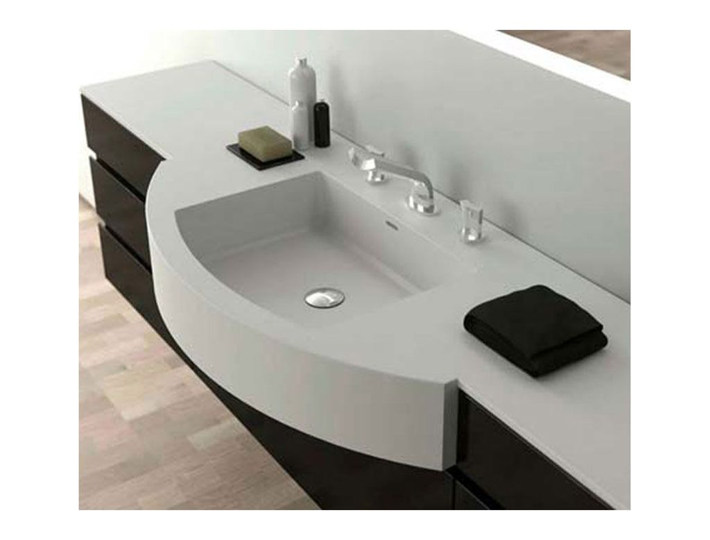Lavabo RegularPro in #corian #design | T4H Lavabi bagno ...