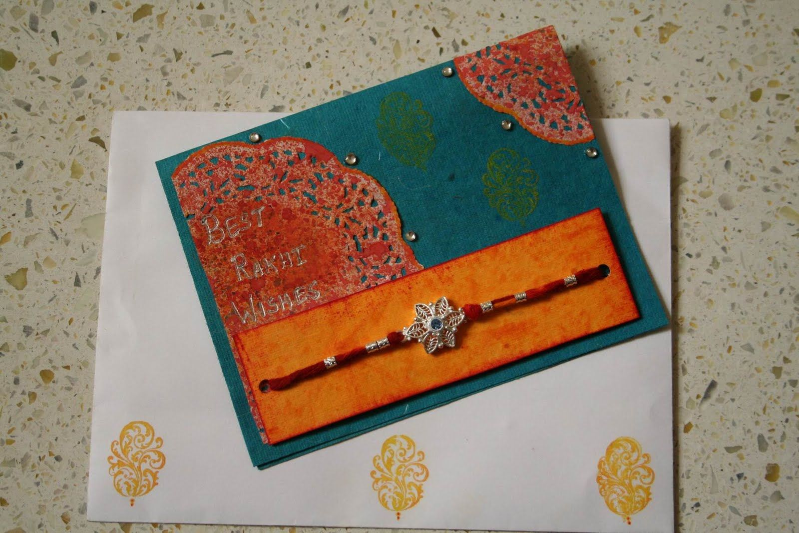 Rakhi Cards With Images Rakhi Cards Handmade Rakhi Cards