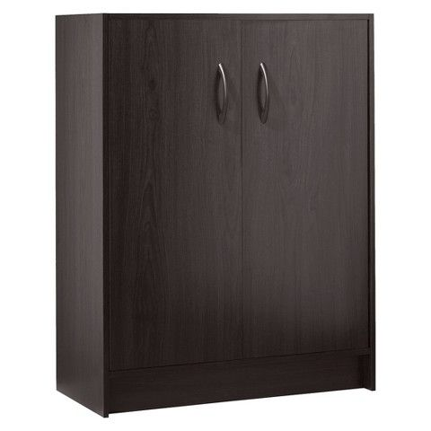 Room Essentials 2 Door Organizer Cabinet Espresso Door Organizer Room Essentials Utility Storage Cabinet