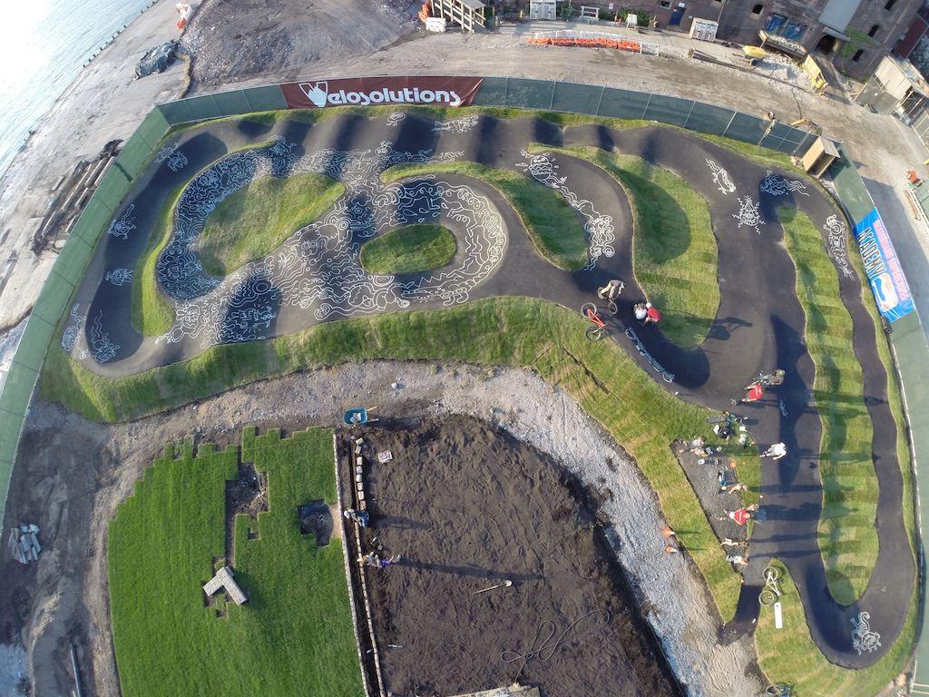 48 best backyard bmx pump track images on pinterest bike trails