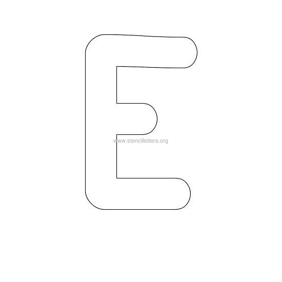 bubble stencil letter e | pochoir cour csc | Pinterest ... The Letter E In Bubble Letters