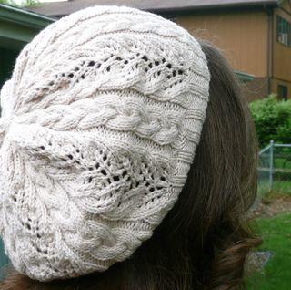 Slouch Hat Knitting Pattern Circular Needles : Free slouch hat pattern, very pretty! Knitting (and crocheting) Pinterest...