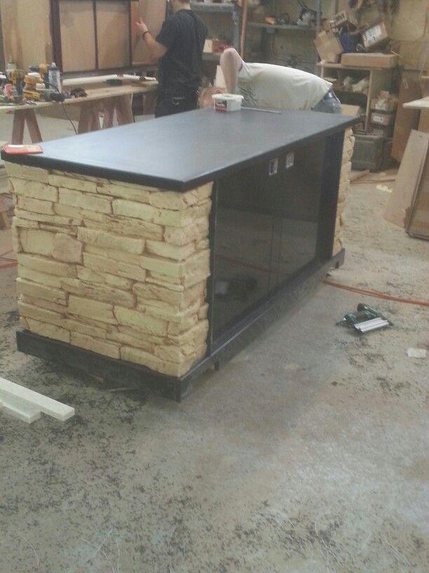 Custom Carts For Wells Fargo Stadium Woodworking Decor
