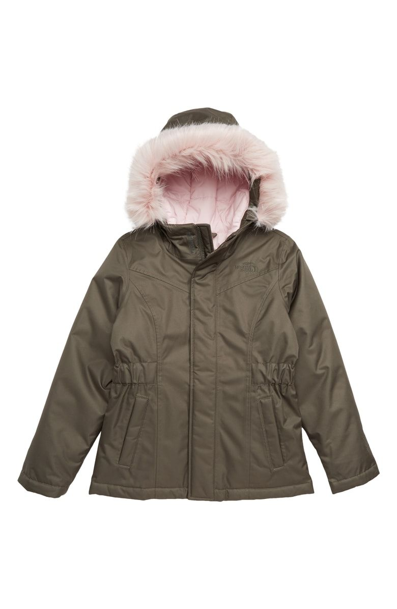 814b43231f Free shipping and returns on The North Face Greenland Waterproof 550-Fill-Power  Down Parka (Big Girls) at Nordstrom.com.