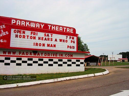Parkway Drive-In Theatre, Maryville, TN