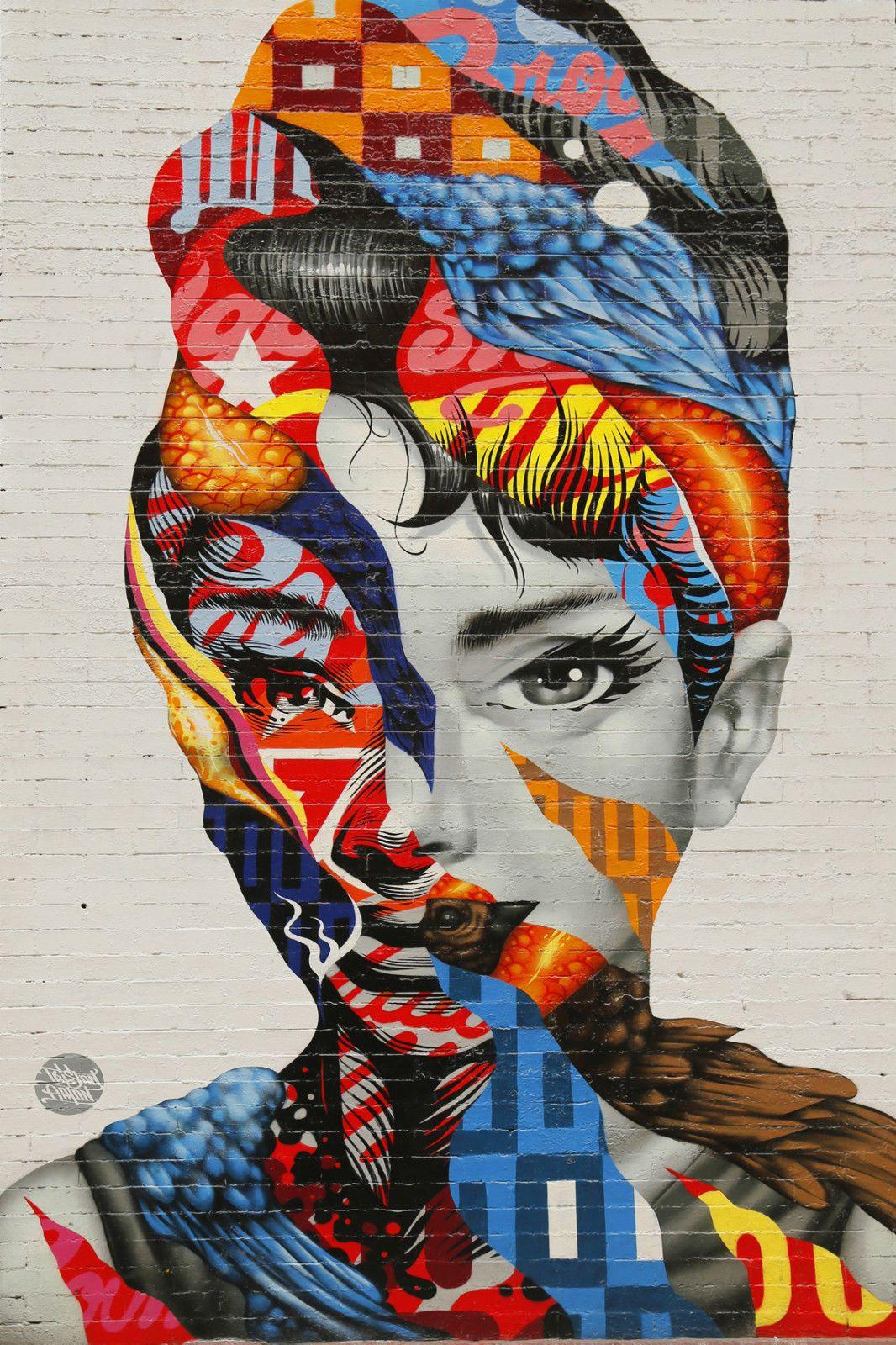 Details about beautiful graffiti street art canvas picture